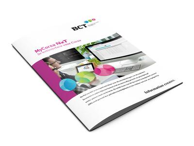 Mycorsa NxT-webinterface van corsa